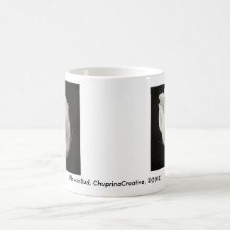 Flower Bud Classic White Coffee Mug