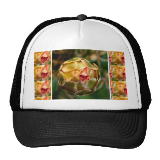 Flower BUD : Elegant Diamond Ruby like LOOK Love Hats
