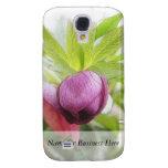 Flower Bud - Helleborus x hybridus Samsung Galaxy S4 Covers