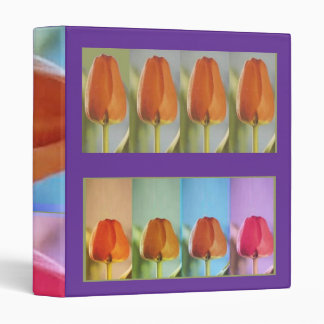Flower Buds Collection - Rainbow Base Binder