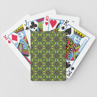 Flower Buds Design Bicycle Poker Cards