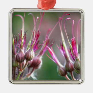 Flower buds christmas tree ornaments