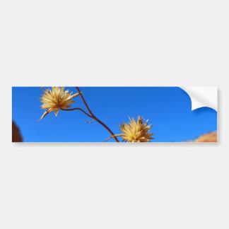 Flower Car Bumper Sticker