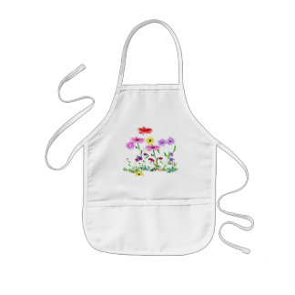 Flower bunch apron