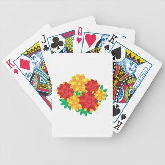 Flower Bunch Poker Deck