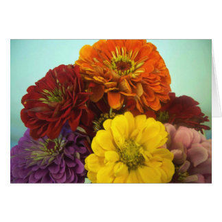 Flower Bunches Card