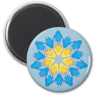 Flower Bunnies Magnet