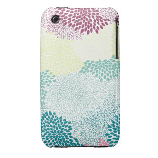 """Flower Burst"" Rainbow of Colors Case-Mate iPhone 3 Case"