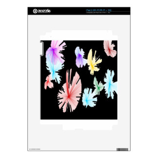 flower burst decal for the iPad 2