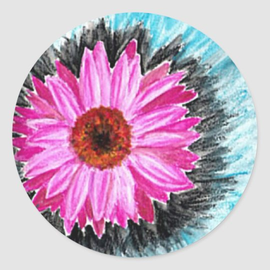 Flower Burst Sticker