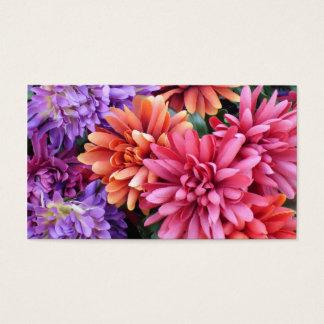 Flower Bursts Business Card
