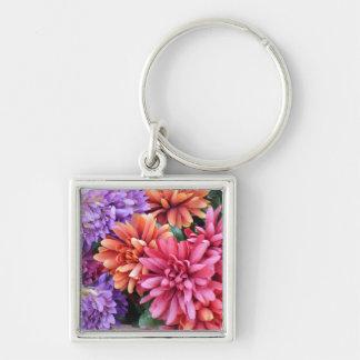 Flower Bursts Keychain