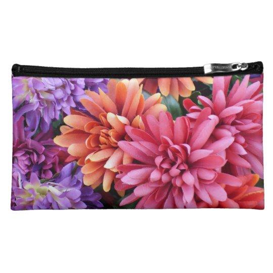 Flower Bursts Makeup Bag