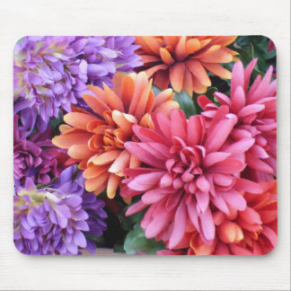 Flower Bursts Mouse Pad