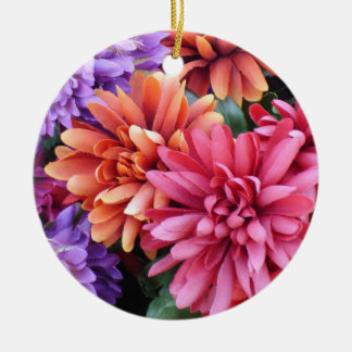 Flower Bursts Ornaments