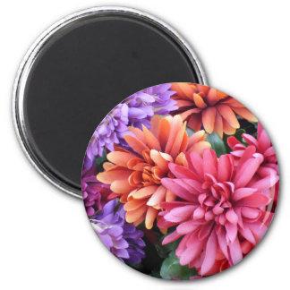 Flower Bursts Refrigerator Magnet