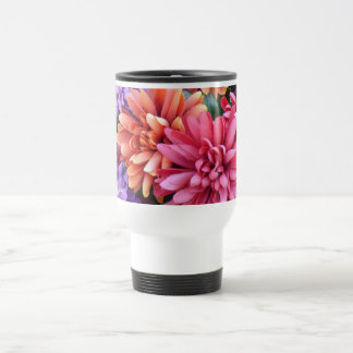 Flower Bursts Travel Mug