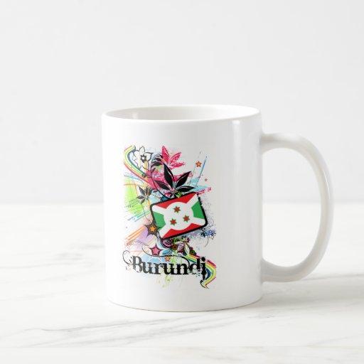 Flower Burundi Coffee Mug