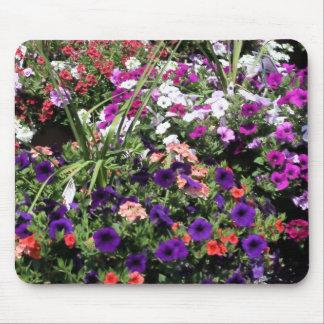 flower bushes mouse pad