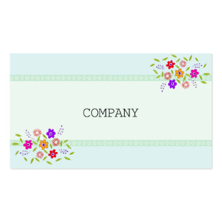 FLOWER BUSINESSCARD
