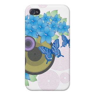 Flower Butterfly iPhone 4/4S Cover