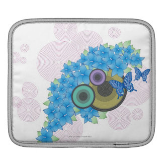 Flower Butterfly Sleeve For iPads