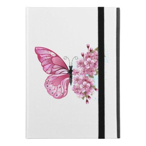 "Flower Butterfly with Pink Sakura iPad Pro 9.7"" Case"