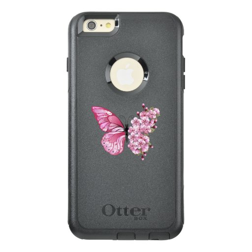 Flower Butterfly with Pink Sakura OtterBox iPhone 6/6s Plus Case