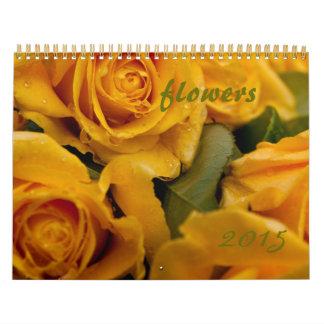 Flower calendar 2015