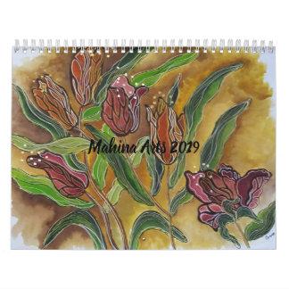 Flower calender 2019 calendar