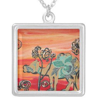 Flower Camel Necklace