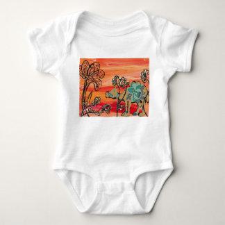 Flower Camel T Shirts