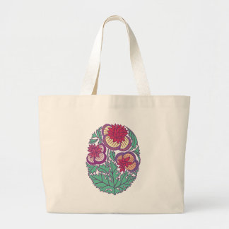 flower cameo canvas bags