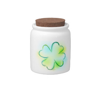 Flower Candy Jars