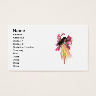Flower Carnival Fairy Business Card