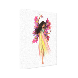 Flower Carnival Fairy Canvas Print