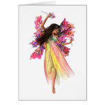 Flower Carnival Fairy Greeting Card