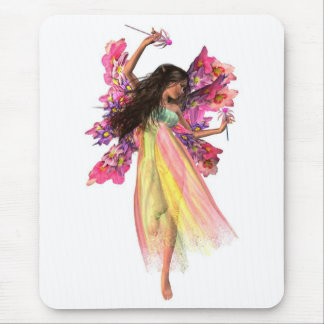 Flower Carnival Fairy Mouse Pad