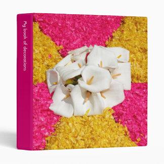 Flower carpet binder