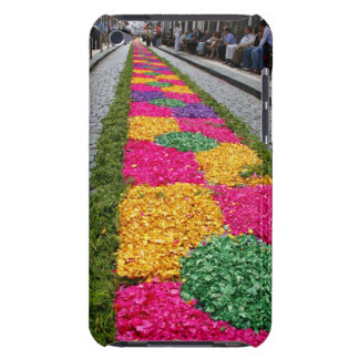 Flower carpet iPod touch cases