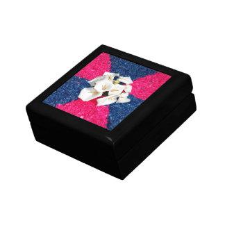 Flower carpet jewelry box
