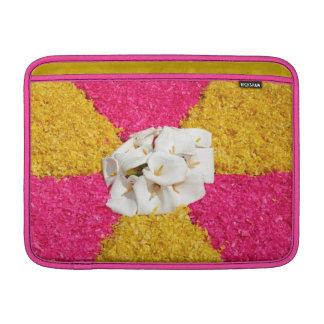 Flower carpet MacBook sleeves