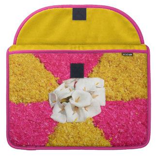 Flower carpet sleeve for MacBooks