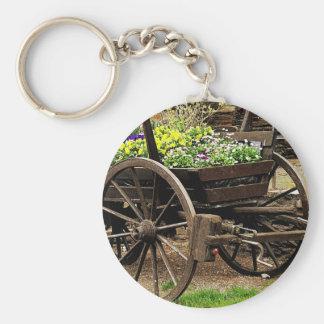 Flower Cart Keychain