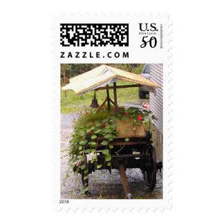 Flower Cart Postage