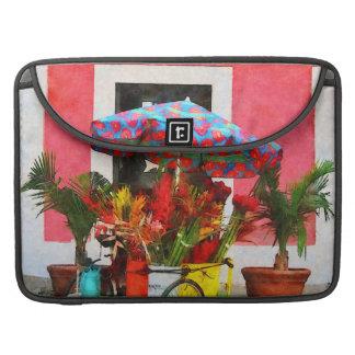 Flower Cart San Juan, Puerto Rico MacBook Pro Sleeves