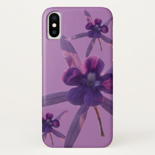 Flower iPhone X Case