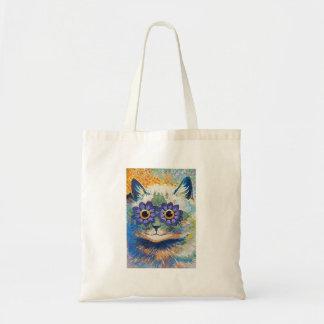 Flower Cat by Louis Wain Tote Bag