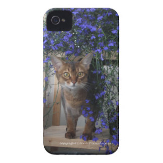 Flower Cat iPhone 4 Case-Mate Case