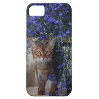 Flower Cat iPhone 5 Cases
